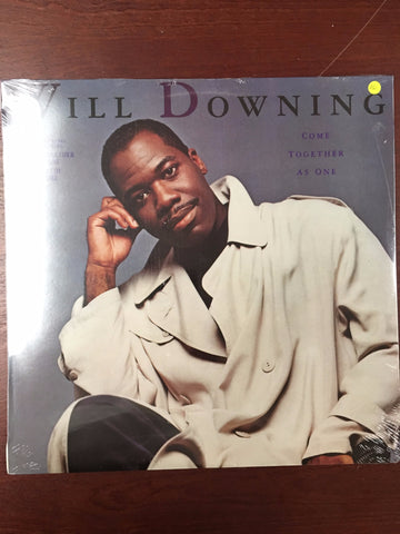 Will Downing ‎– Come Together As One -  Vinyl LP - Sealed
