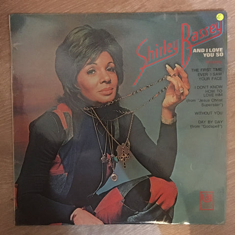 Shirley Bassey - And I Love You So - Vinyl LP Record - Opened  - Very-Good- Quality (VG-)