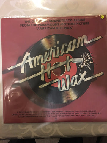 American Hot Wax Soundtrack - Double Vinyl LP - Opened  - Very-Good+ Quality (VG+)