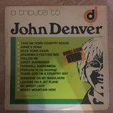 A Tribute to John Denver and A Tribute to Neil Diamond  - Double Vinyl LP Record - Very-Good+ Quality (VG+) - C-Plan Audio