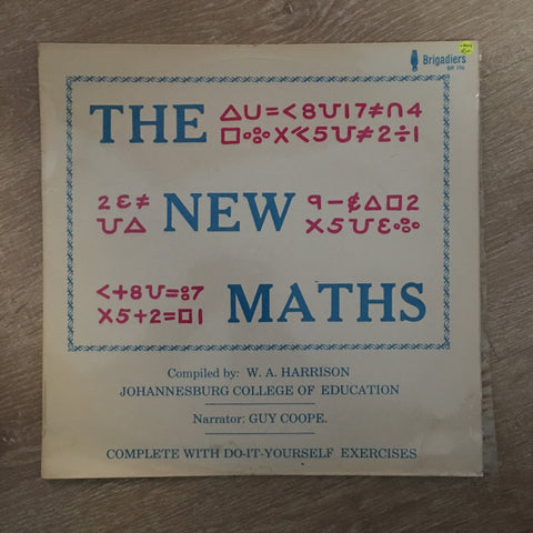 The New Maths - W.A Harrisson - Vinyl LP Record - Opened  - Very-Good+ Quality (VG+)