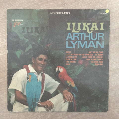 Arthur Lyman - Ilikai - Vinyl LP Record - Opened  - Good+ Quality (G+)
