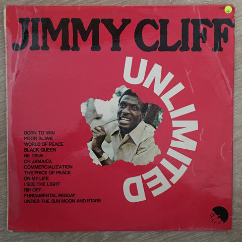 Jimmy Cliff - Unlimited - Vinyl LP Record - Opened  - Very-Good Quality (VG)