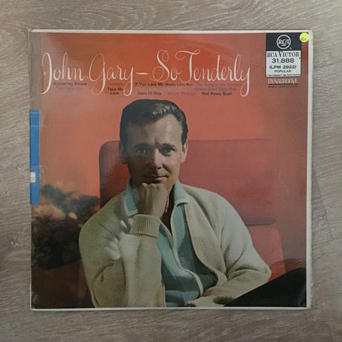 John Gary - So Tenderly - Vinyl LP Record - Opened  - Very-Good+ Quality (VG+)
