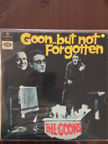 The Goons - Goon but not Forgotten - Vinyl LP - Opened  - Very-Good Quality (VG) - C-Plan Audio