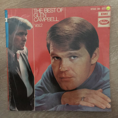 The Best of Glen Campbell - Vol 2 - Vinyl LP Record - Opened  - Very-Good+ Quality (VG+)