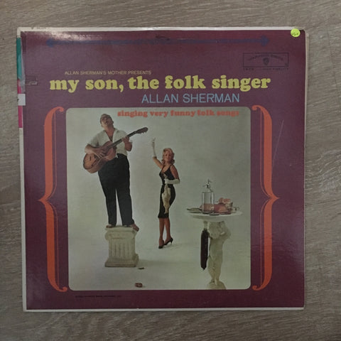 Allan Sherman - My Son, The Folk Singer - Vinyl LP Record - Opened  - Very-Good+ Quality (VG+)