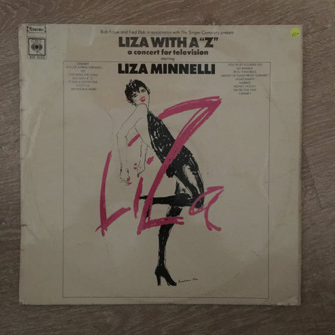 Liza Minnelli - Liza With A Z  - Vinyl LP Record - Opened  - Very-Good- Quality (VG-)