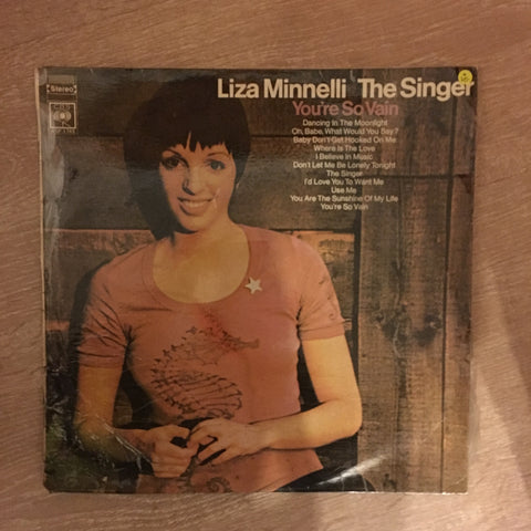 Liza Minnelli - The Singer - Vinyl LP Record - Opened  - Very-Good Quality (VG)