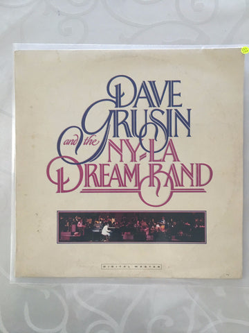 Dave Grusin And The N.Y. / L.A. Dream Band* ‎– Dave Grusin And The N.Y. / L.A. Dream Band - Vinyl LP - Opened  - Very-Good+ Quality (VG+)