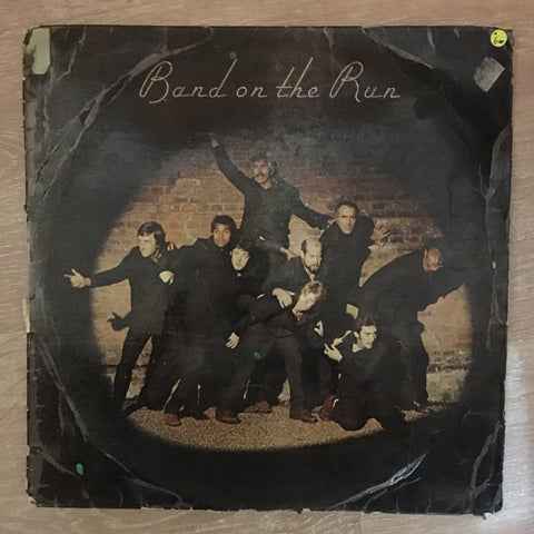 Wings (Paul McCartney) - Band On The Run - Vinyl LP Record - Opened  - Good Quality (G)
