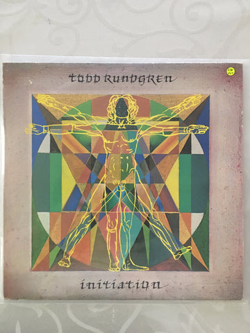 Todd Rundgren - Inititiation - Vinyl LP - Opened  - Very-Good+ Quality (VG+) - C-Plan Audio