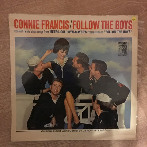 Connie Francis - Follow The Boys  - Vinyl LP Record - Opened  - Very-Good+ Quality (VG+)