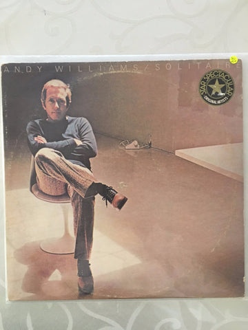 Andy Williams - Solitaire - Vinyl LP - Opened  - Very-Good+ Quality (VG+) - C-Plan Audio