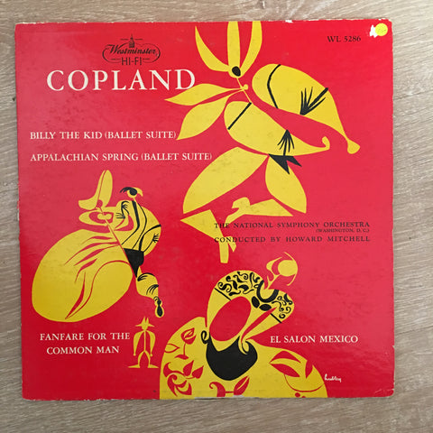 Aaron Copland ‎– Appalachian Spring (Ballet Suite) Billy The Kid (Ballet Suite) - Vinyl Record - Opened  - Very-Good+ Quality (VG+)