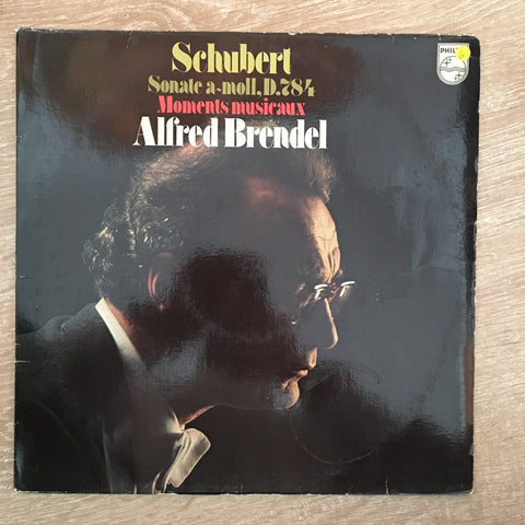 Alfred Brendel - Schubert - Vinyl LP Record - Opened  - Good Quality (G)