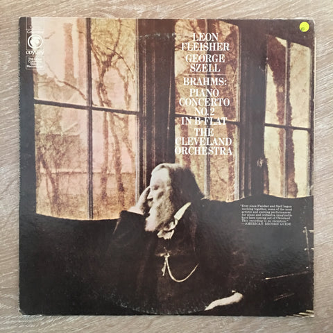 Leon Fleisher with George Szell and The Cleveland Orchestra / Brahms ‎– Brahms: Concerto No. 2 In B-Flat Major - Vinyl LP Record - Opened  - Very-Good Quality (VG)