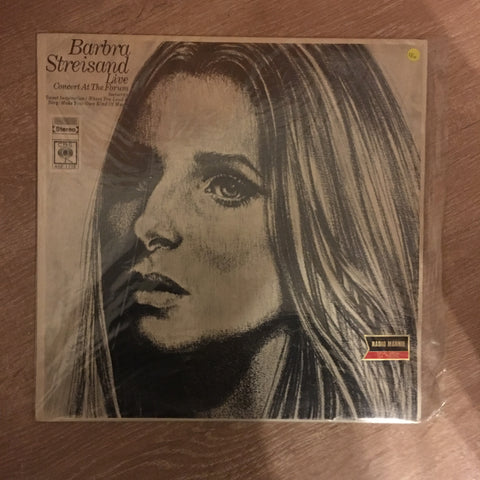 Barbra Streisand ‎– Live Concert At The Forum - Vinyl LP Record - Opened  - Very-Good Quality (VG)