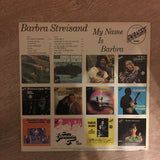 Barbra Streisand - My Name Is Barbra - Vinyl LP Record - Opened  - Very-Good+ Quality (VG+)