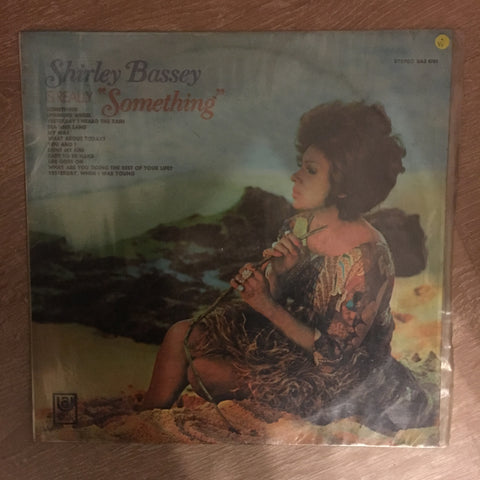 Shirley Bassey - Something - Vinyl LP Record - Opened  - Very-Good Quality (VG)