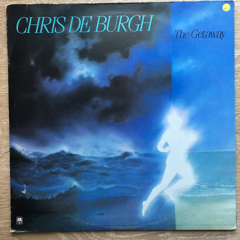 Chris De Burgh - The Getaway  - Vinyl LP Record - Opened  - Very-Good+ Quality (VG+) - C-Plan Audio