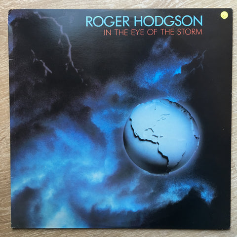 Roger Hodgson ‎– In The Eye Of The Storm  - Vinyl LP - Opened  - Very-Good+ Quality (VG+) - C-Plan Audio
