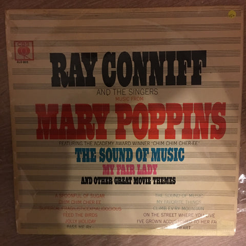 Ray Conniff And The Singers ‎– Music From Mary Poppins, The Sound Of Music, My Fair Lady And Other Great Movie Themes - Vinyl LP Record - Opened  - Very-Good+ Quality (VG+) - C-Plan Audio