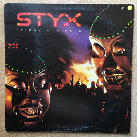 Styx - Kilroy Was Here - Vinyl LP Record - Opened  - Very-Good Quality (VG)