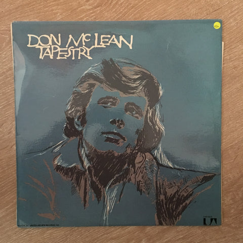 Don McLean - Tapestry - Vinyl LP Record - Opened  - Very-Good+ Quality (VG+) - C-Plan Audio