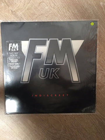 FM UK - Indiscreet - Vinyl LP - Opened  - Very-Good+ Quality (VG+) - C-Plan Audio