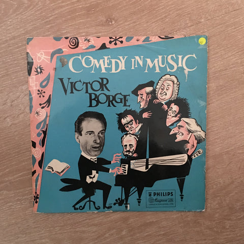 Victor Borge - Comedy In Music -  Vinyl LP Record - Opened  - Very-Good Quality (VG)
