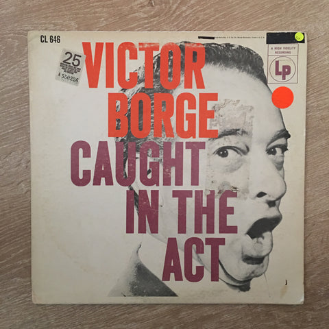 Victor Borge - Caught In The Act - Vinyl LP Record - Opened  - Good+ Quality (G+)