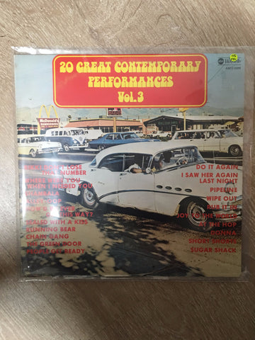 20 Great Contempory Performances Vol 3 - Double Vinyl LP - Opened  - Very-Good+ Quality (VG+)