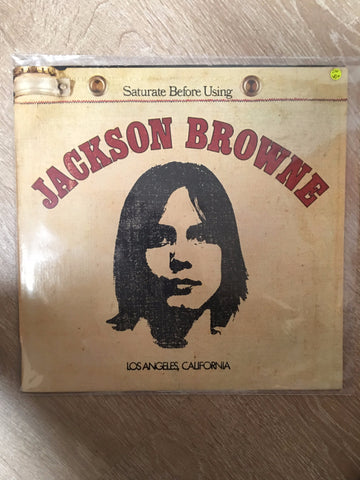 Jackson Browne - Saturate Before Using  - Vinyl LP - Opened  - Very-Good+ Quality (VG+) - C-Plan Audio
