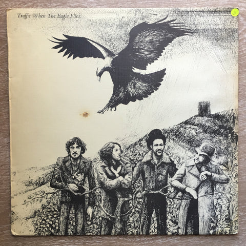 Traffic ‎– When The Eagle Flies - Vinyl LP Record - Opened  - Very-Good- Quality (VG-)
