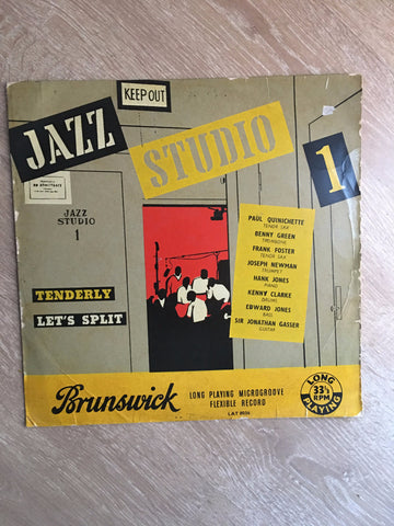 Jazz Studio 1 - Paul Quinichette, Benny Green.... - Opened  - Good+ Quality (G+)