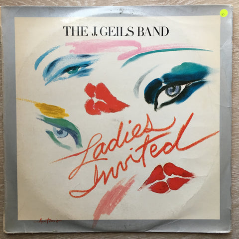 The J. Geils Band - Ladies Invited - Vinyl LP Record - Opened  - Very-Good Quality (VG)