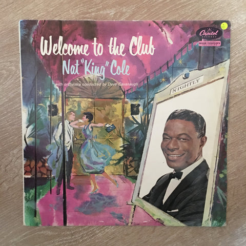 Nat King Cole - Welcome To The Club -  Vinyl LP Record - Opened  - Very-Good Quality (VG)