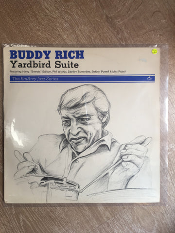 Buddy Rich - Yardbird Suite - Vinyl LP Record - Opened  - Very-Good+ Quality (VG+)