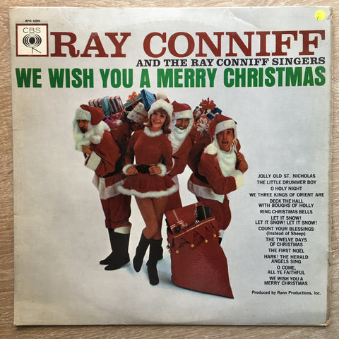 Ray Conniff - We Wish You A Merry Christmas  - Vinyl LP Record - Opened  - Very-Good- Quality (VG-)