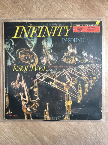 Esquivel And His Orchestra ‎– Infinity In Sound - Vinyl LP Record - Opened  - Very-Good+ Quality (VG+)