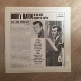 Bobby Darin - Oh - Look At Me Now - Vinyl LP Record - Opened  - Very-Good+ Quality (VG+)