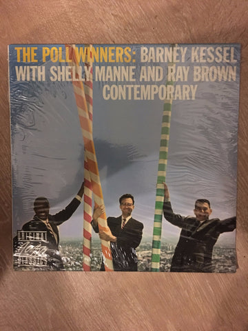 The Poll Winners - Barney Kessel, Shelly Mannie ... -  Vinyl LP - Sealed - C-Plan Audio