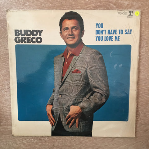 Buddy Greco - You Don't Have To Say You Love Me -  Vinyl LP Record - Opened  - Very-Good Quality (VG)