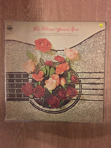 John Williams plays Spanish Music - Vinyl LP Record - Opened  - Very-Good+ Quality (VG+)