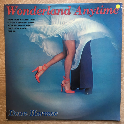 Deon Harmse Dance Band - Wonderland Anytime – Vinyl LP Record - Opened  - Very-Good+ Quality (VG+)