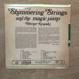 Shimmering Strings and the Magic Piano Of Werner Krupski - Vinyl LP Record - Opened  - Very-Good+ Quality (VG+)