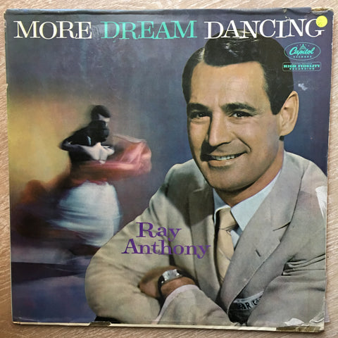 Ray Anthony ‎– More Dream Dancing  - Vinyl LP Record - Opened  - Very-Good- Quality (VG-)