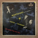Mantovani, Rawicz And Landauer ‎– Music From The Films –  Vinyl LP Record - Opened  - Very-Good Quality (VG) - C-Plan Audio