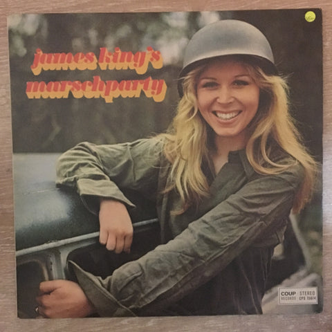 James King - Marschparty  - Vinyl LP Record  - Opened  - Very-Good+ Quality (VG+) - C-Plan Audio